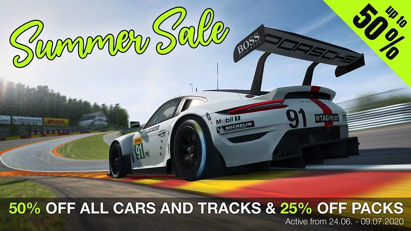 RaceRoom Summer Sale 2020