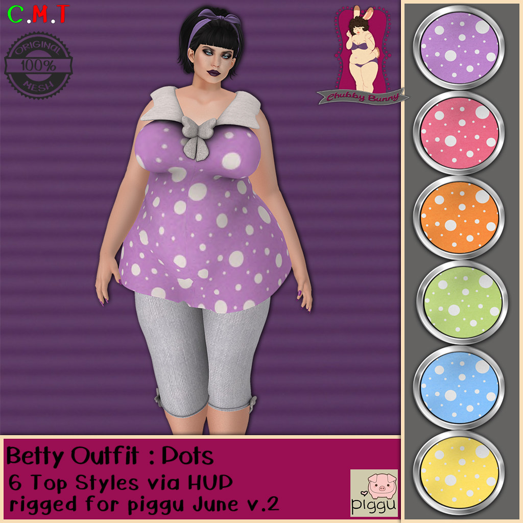 CB Betty Outfit Dots