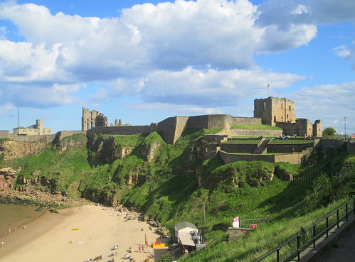 Tynemouth Priory from Northwest