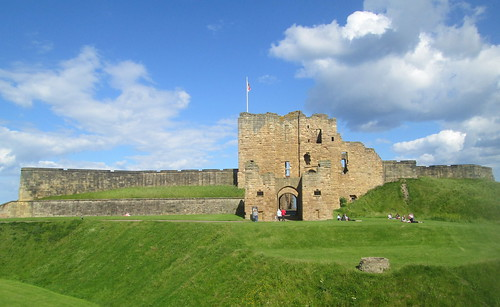 Tynemouth Priory, from Tynemouth