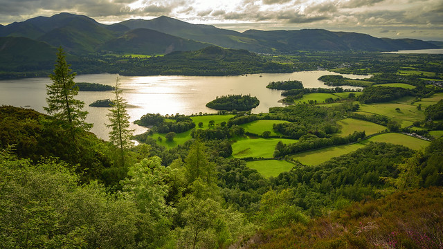 Derwentwater, Lake District, UK