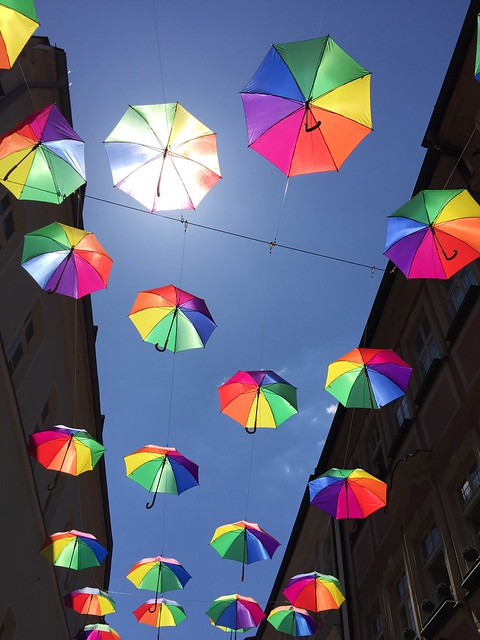 Umbrellas   Bamberg/Austraße 2020-06-24