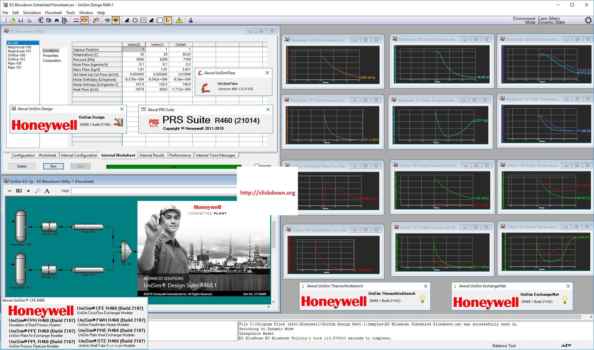 Working with Honeywell UniSim Design Suite R460.1 full license