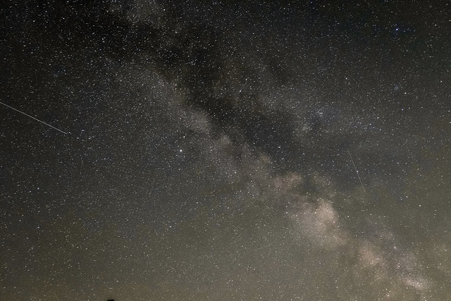 Milky Way over Harting Down