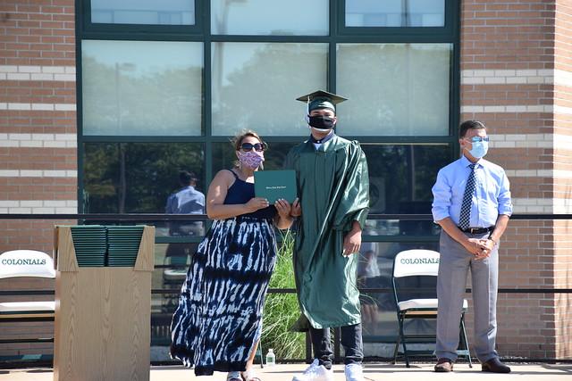 William Floyd High School Curbside Graduation Day 3 - June 24, 2020
