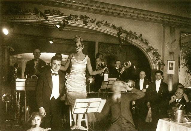 Josephine Baker at Chez Josephine