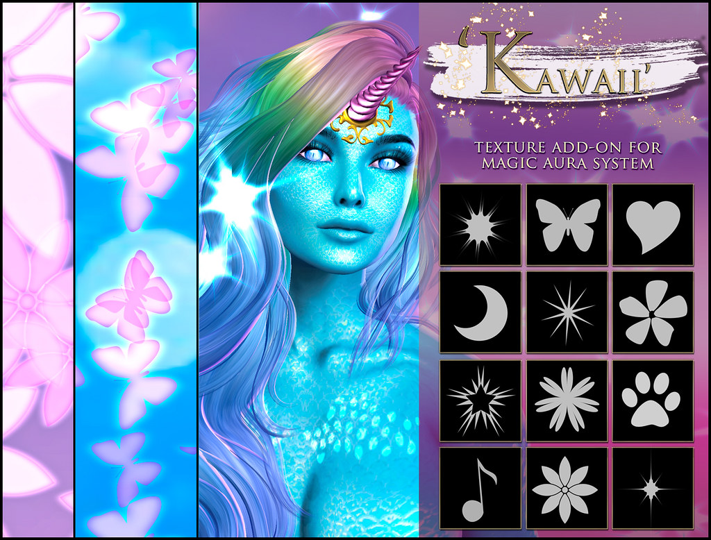 -Elemental - ' Kawaii ' Texture Addon For Magical Aura