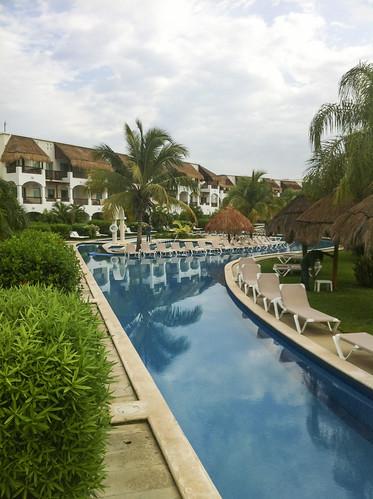Swim up area, Valentin Imperial Riviera Maya, Mexico
