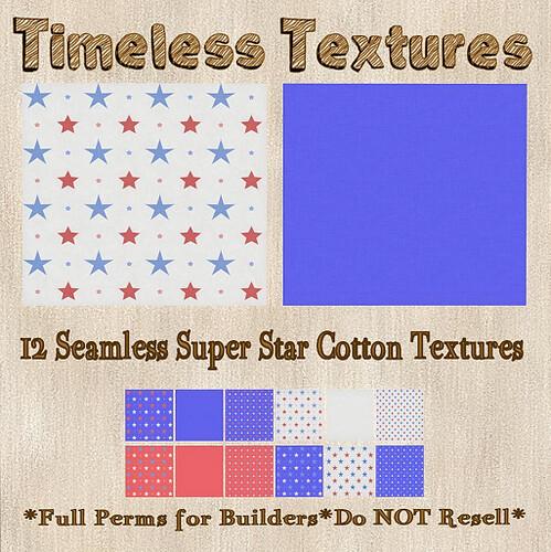TT 12 Seamless Super Star Cotton Timeless Textures