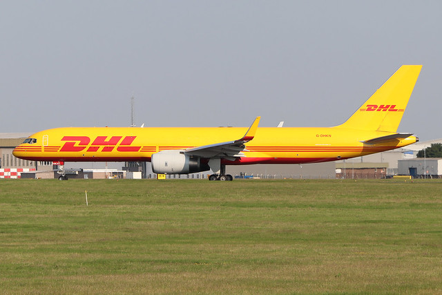 G-DHKN  -  Boeing 757-223PCF (WL)  -  DHL Air  -  EMA/EGNX 24/6/20