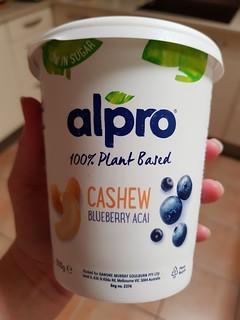 Alpro Blueberry Acai Yoghurt