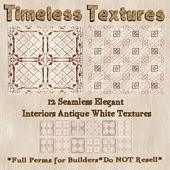 TT 12 Seamless Elegant Interiors Antique White Timeless Textures