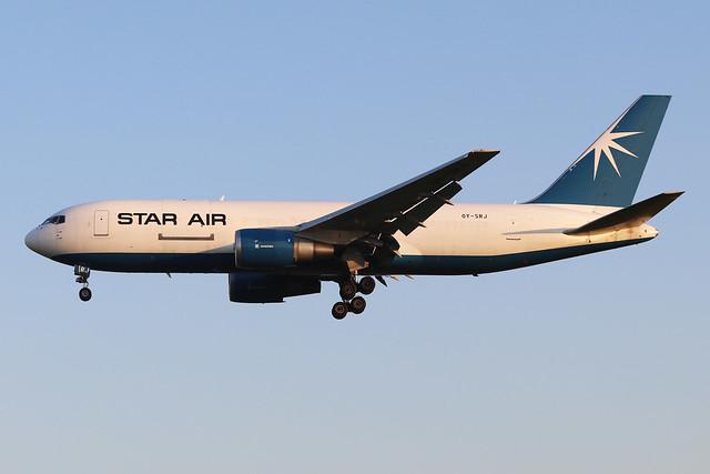 OY-SRJ  -  Boeing 767-25E(BDSF)  -  Star Air  -  EMA/EGNX 24/6/20.