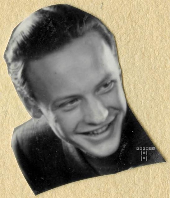 ArchivTappenX556 Porträt, Rekrutenzeit in Belfort, 19. Juli bis 25. Oktober 1942
