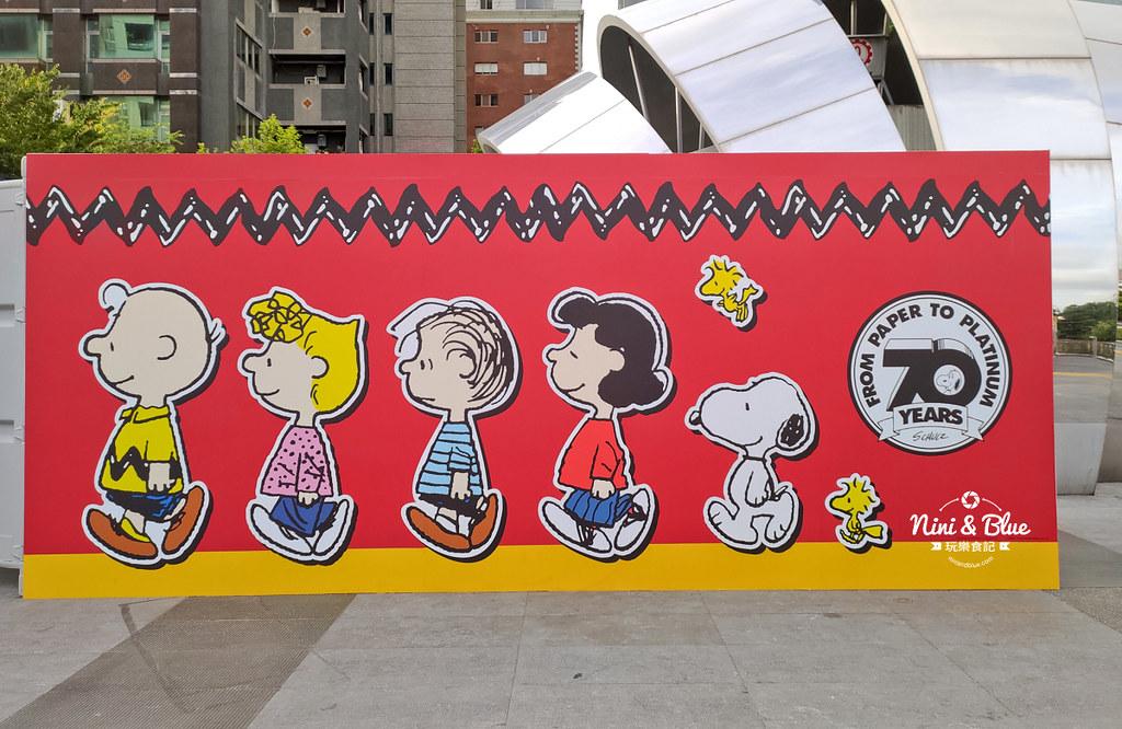 花生漫畫史努比Snoopy 70週年巡迴特展 台中景點04
