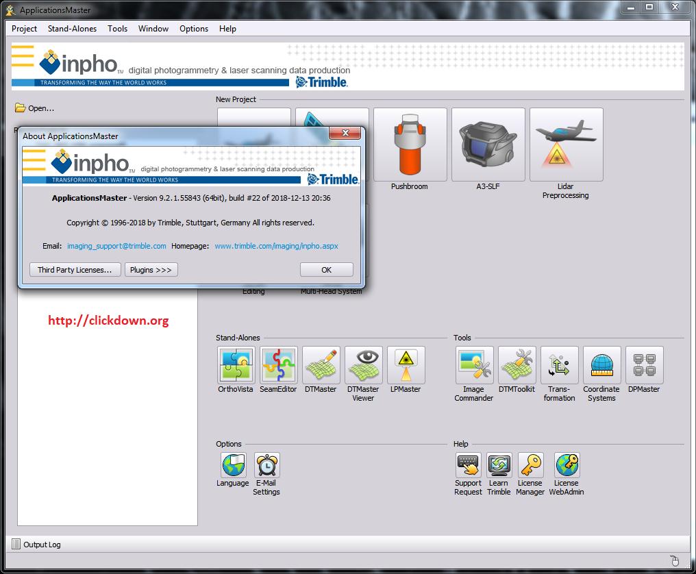 Working with Trimble Inpho UASMaster 9.2.1 full license