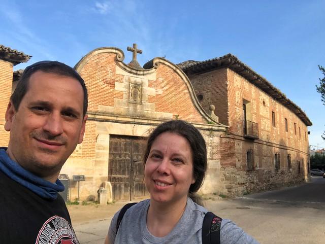 Sele y Rebeca en Talamanca del Jarama