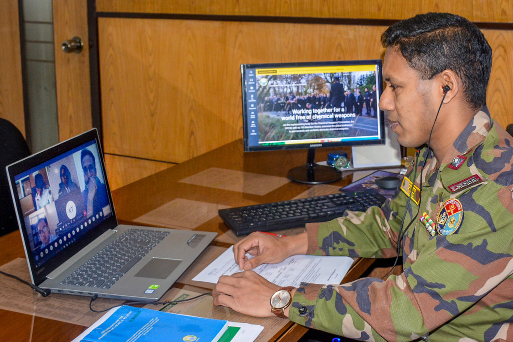 OPCW Training on Fulfilling Declarations and Inspections Obligations under Art. VI