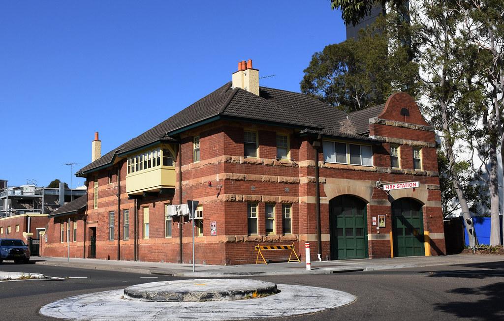 Fire Station, Kogarah, Sydney, NSW.