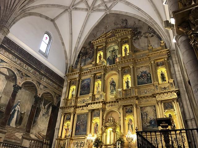 Retablo de la iglesia de Colmenar de Oreja