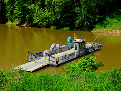 The new Green River Ferry.