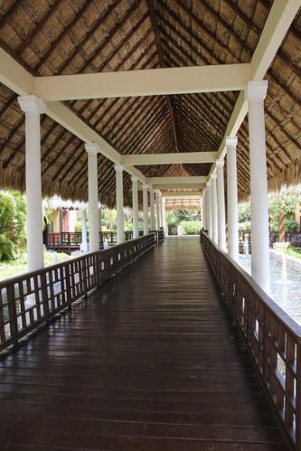 Registration desk, Valentin Imperial Riviera Maya, Mexico