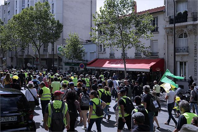 Acte XXXIX des Gilets jaunes ✔ Paris le 10 aout 2019 IMG190810_147_©2019 | Fichier Flickr 1000x667Px Fichier d'impression 5610x3740Px-300dpi