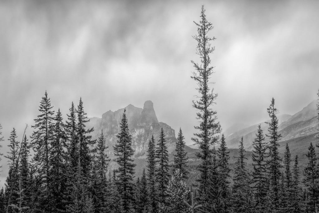 Castle Mountain, Banff, Alberta
