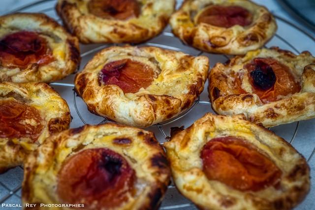 Tartelettes aux abricots, recette danoise.