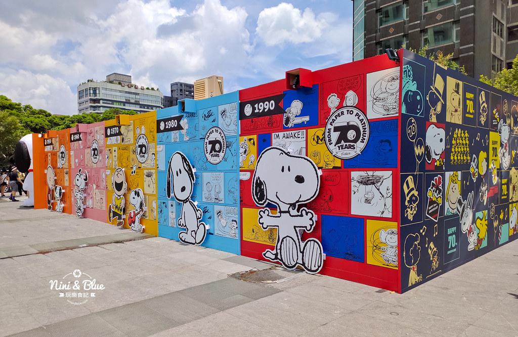 花生漫畫史努比Snoopy 70週年巡迴特展 台中景點35