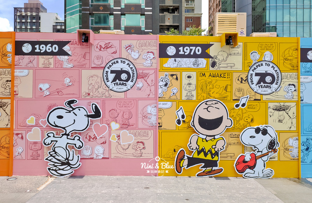 花生漫畫史努比Snoopy 70週年巡迴特展 台中景點33