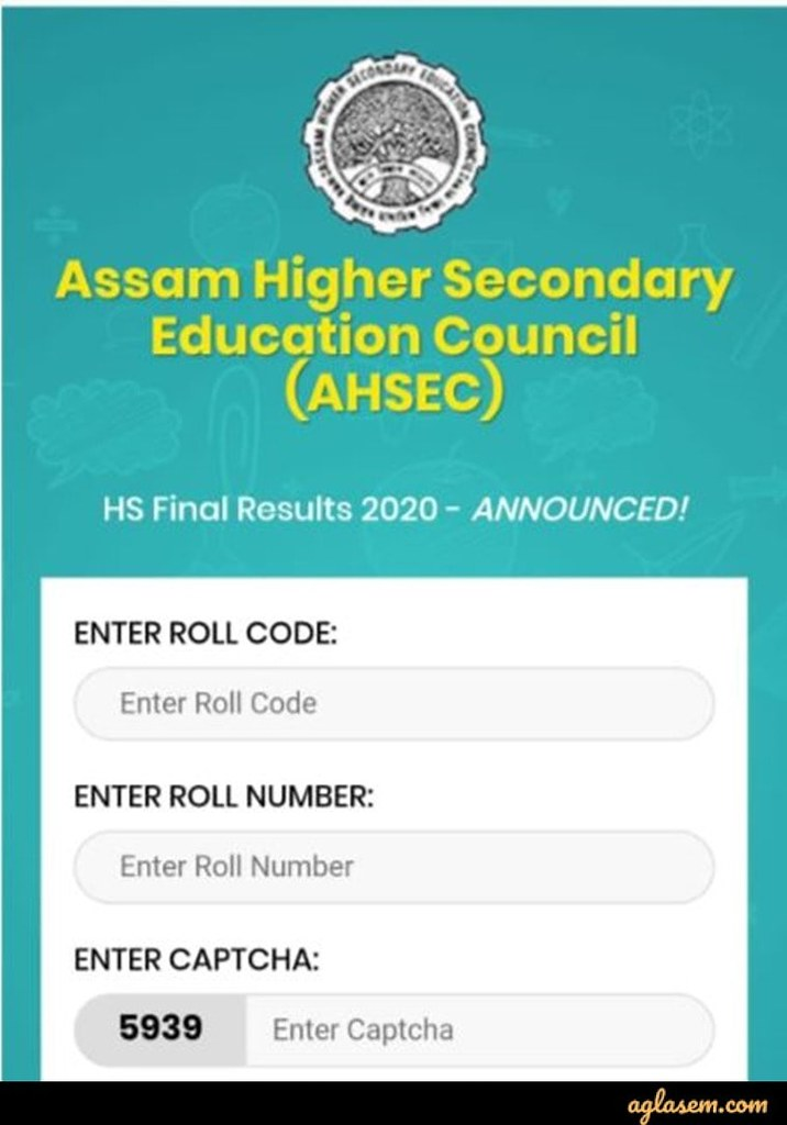 Assam HS Results 2020 Assam HS Results 2020 (Out) - Check HS Assam Board Results at ahsec.nic.in