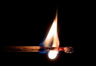 combustione del legno