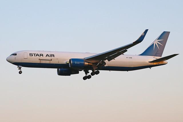 OY-SRW  -  Boeing 767-346F(ER)  -  Star Air  -  EMA/EGNX 24/6/20