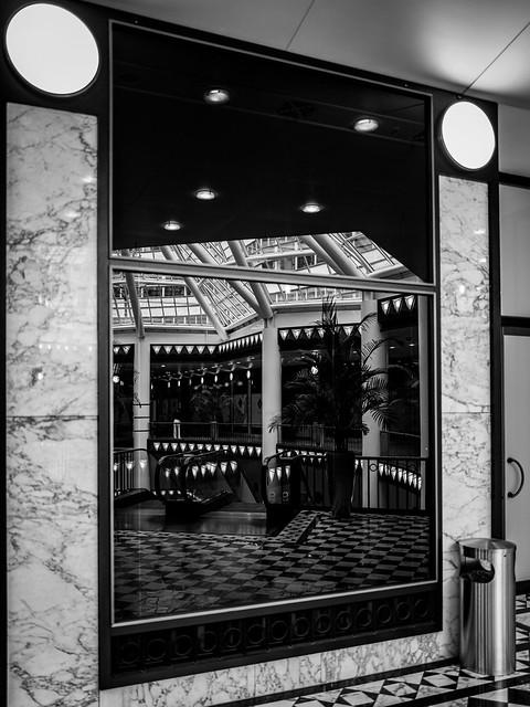 Spiegelung Quartier 206