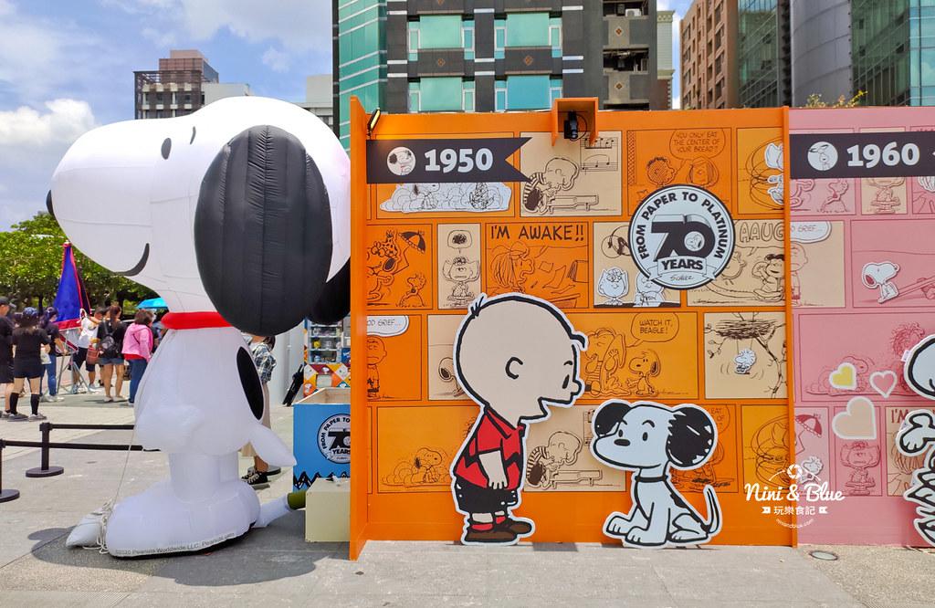 花生漫畫史努比Snoopy 70週年巡迴特展 台中景點32