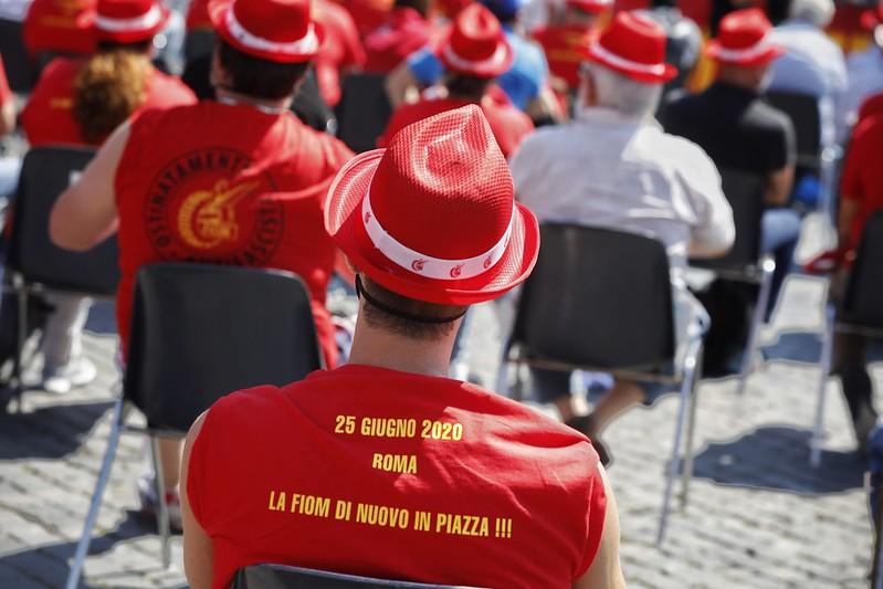 Manifestazione Nazionale Fiom, Fim, Uilm 'Cento vertenze'