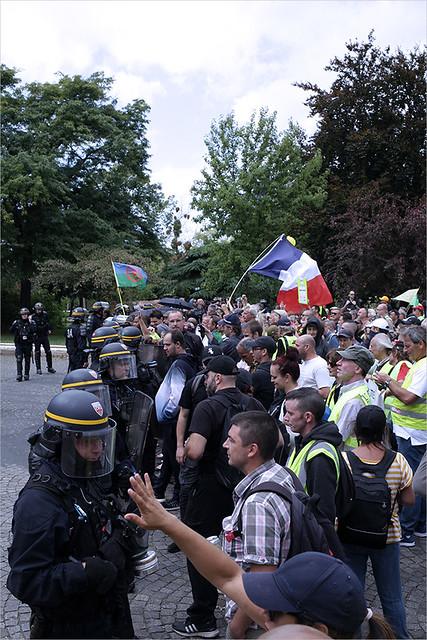 Acte XXXIX des Gilets jaunes ✔ Paris le 10 aout 2019 IMG190810_092_©2019 | Fichier Flickr 1000x667Px Fichier d'impression 5610x3740Px-300dpi