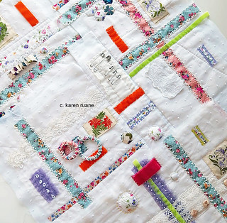 embroidery, a wrapping cloth
