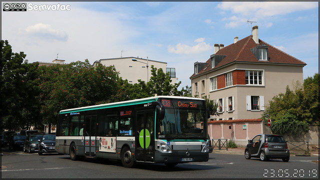 Irisbus Citélis 12 – RATP (Régie Autonome des Transports Parisiens) / Île de France Mobilités n°8638