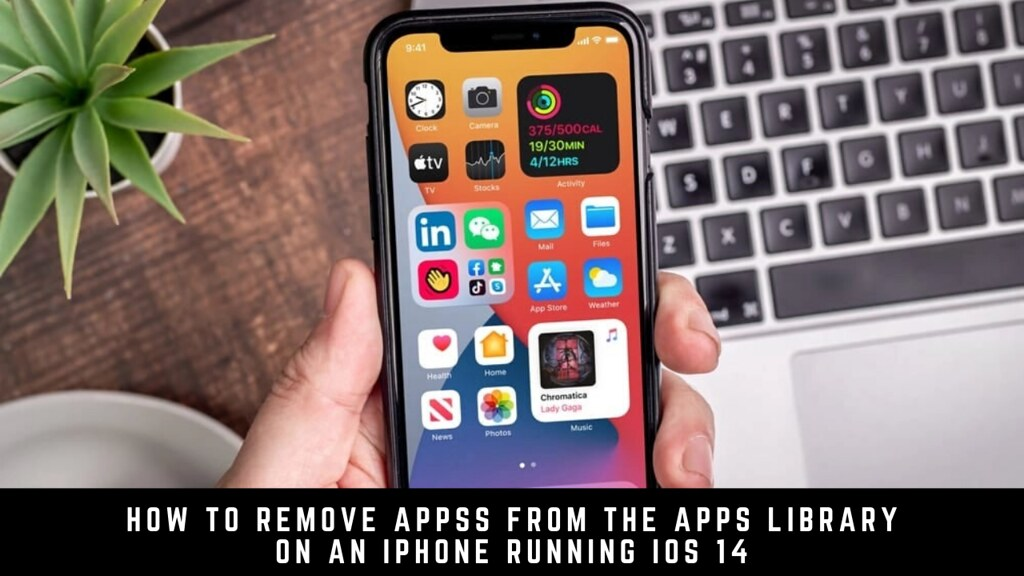 How to Remove Apps from the Apps Library on an iPhone running iOS 14