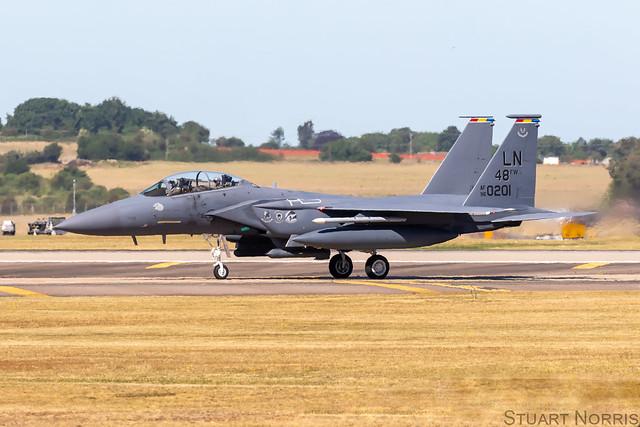 F-15E Strike Eagle 96-0201 - 48th Fighter Wing RAF Lakenheath