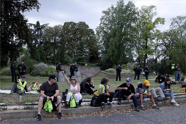 Acte XXXIX des Gilets jaunes ✔ Paris le 10 aout 2019 IMG190810_085_©2019 | Fichier Flickr 1000x667Px Fichier d'impression 5610x3740Px-300dpi