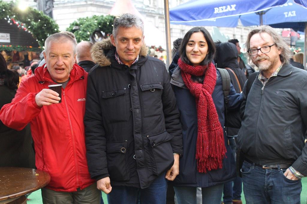 The Black Box group with Erasmus+ volunteer