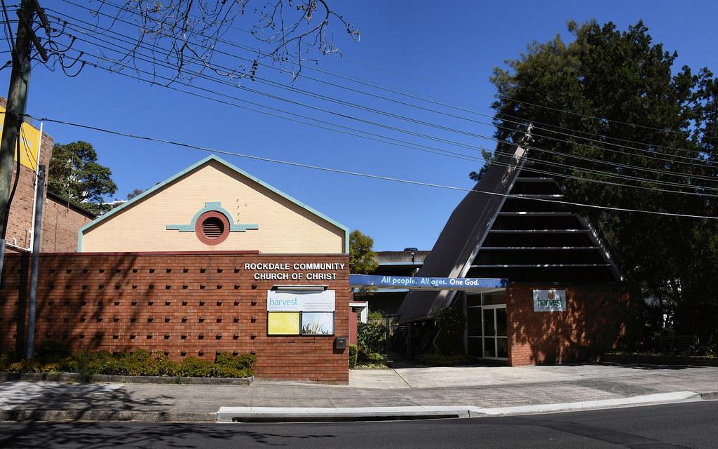 Community Church of Christ, Rockdale, Sydney, NSW.