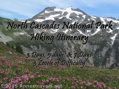 North Cascades Hiking Itinerary