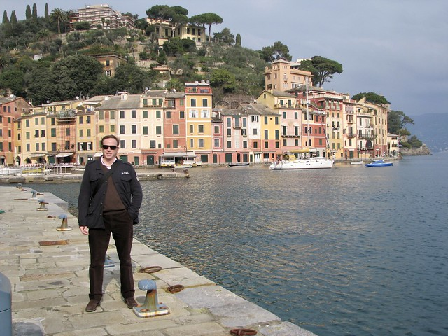 Portofino in winter