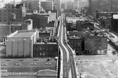 High Line, NYC, freight line