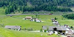 St-Jodok am Brenner (Tirol, dist. d'Innsbruck, Autriche) – La passage del Innsbruck-Trento