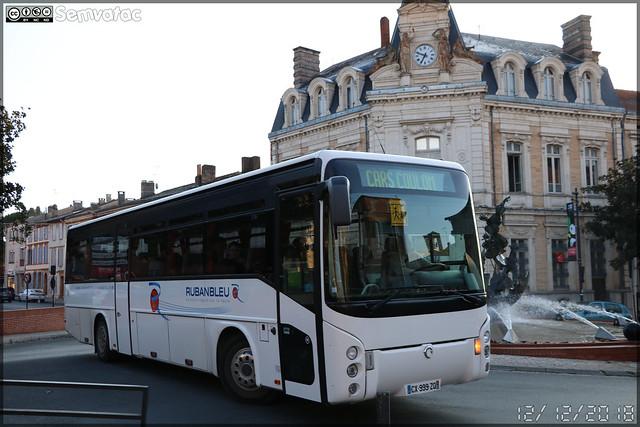 Irisbus Arès – Cars Coulom (Groupe Ruban Bleu) n°91